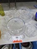 WHITE GLASS WARE