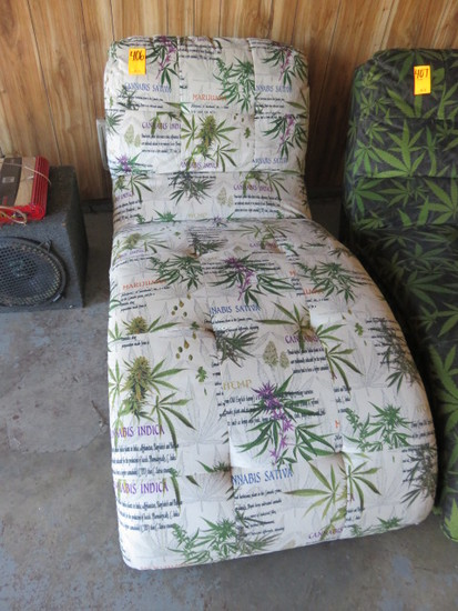 CANNABIS CHAISE LOUNGER CHAIR
