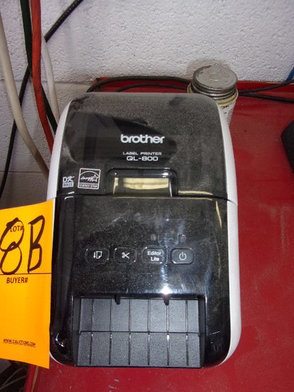 BROTHER QL-800 OIL CHANGE LABEL PRINTER