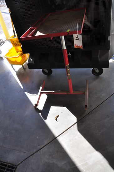 SHOP ADJUSTABLE HEIGHT TOOL CART