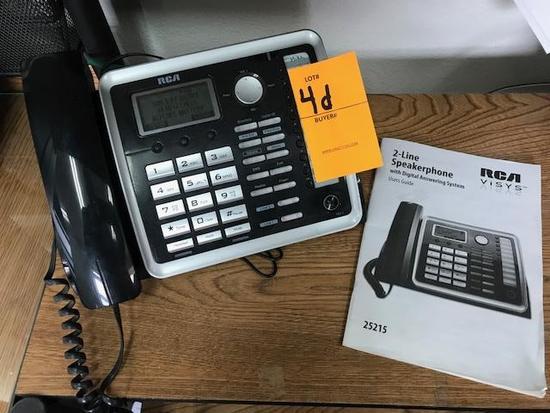 (5) PHONE HAND SETS