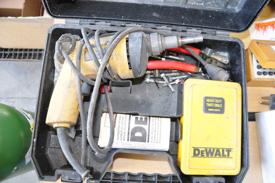 DEWALT DW250 ELECTRIC DRIVER WITH CASE AND ACCS.