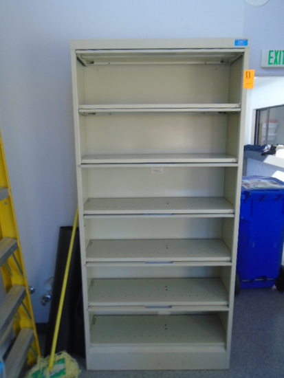6 SHELF LATERAL FILE CABINET