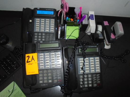 (3) OFFICE PHONES
