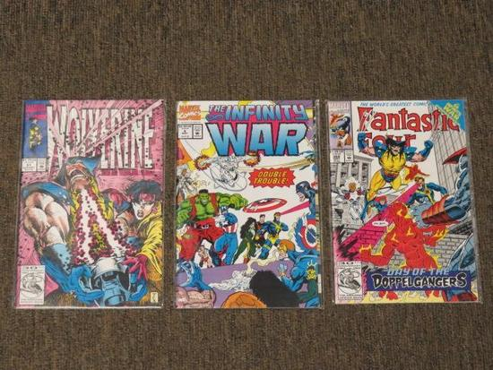 (3) MARVEL COMICS COMIC BOOKS