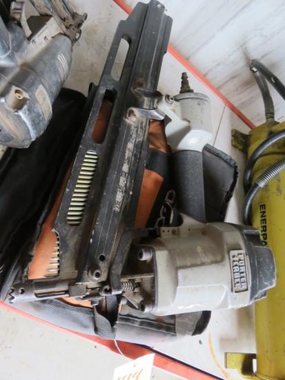 PORTER CABLE & RIDGID NAIL GUNS