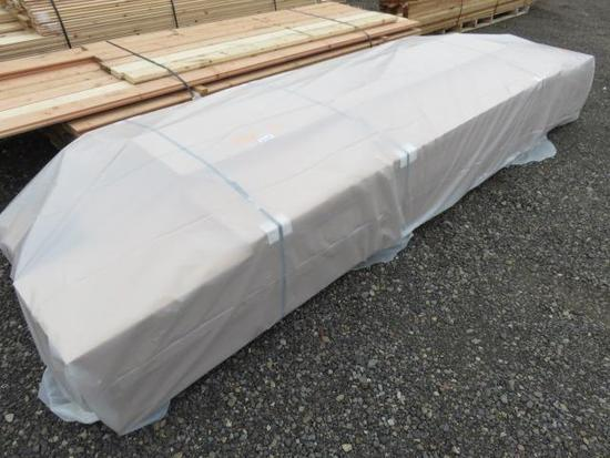 PALLET OF ASSORTED LENGTH MDF PARTICLE BOARDS