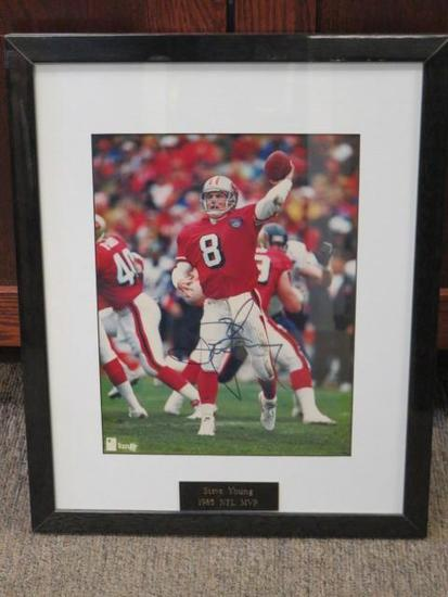 AUTOGRAPHED STEVE YOUNG PHOTOGRAPH