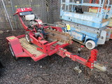 BARRETO 912 WALK BEHIND TRENCHER *TRAILER IS NON TITLED UNIT