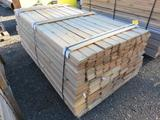 PALLET OF 6', 3'', 6'', & 8'' WIDE TONGUE & GROVE PINE & CEDAR BOARDS