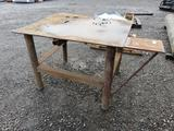 STEEL WELDING/WORK BENCH 42'' X 48''