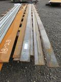ASSORTED SIZE & LENGTH STEEL FLATSTOCK