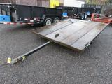 WPS SPORT RIDER II SINGLE AXLE SNOW MOBILE TRAILER *TRAILER IS NON-TITLED UNIT