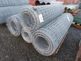 (4) ROLLS OF 5' FIELD FENCING