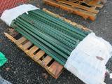 PALLET OF APPROXIMATELY (50) T-POSTS