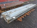 PALLET OF (20) 162'' GUARD RAILS