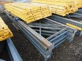 PALLET RACKING (6) 42'' X 16' UPRIGHTS + (30) 9' CROSSARMS