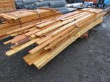 ASSORTED SIZE & LENGTH PINE BOARDS