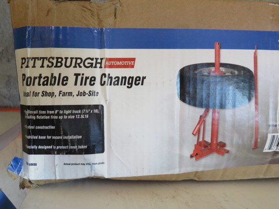 PITTSBURG PORTABLE TIRE CHANGER