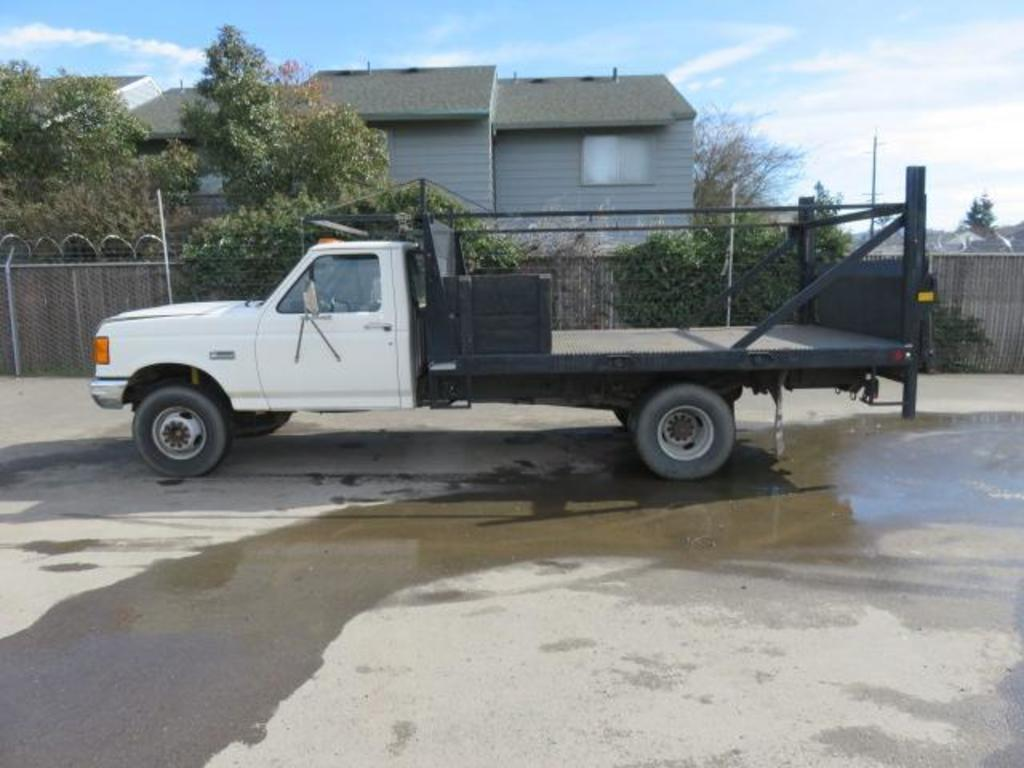 1991 Ford F Super Duty Custom Flatbed Pickup Commercial Trucks Hauling Transport Trucks Flatbed Trucks Auctions Online Proxibid