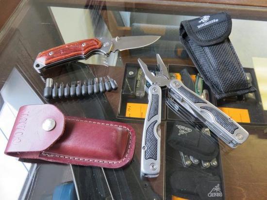 BUCK FOLDING KNIFE - WINCHESTER FOLDING MULTI TOOL