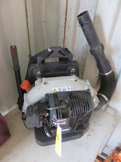 (1) ECHO PB-413H GAS BACK PACK BLOWER