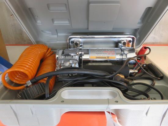 CENTRAL PNEUMATIC 12V HIGH VOLUME AIR COMPRESSOR