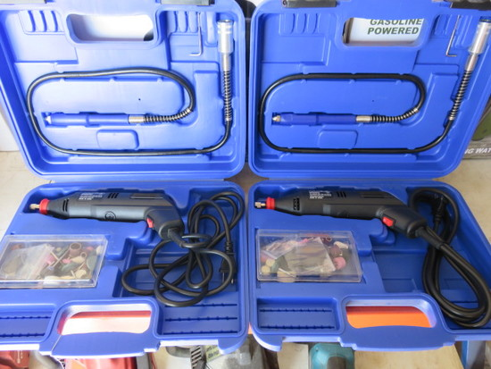 (2) SIJ-A32-10 MINI GRINDER, ACCESSORIES AND CARRY CASE
