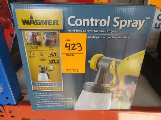 WAGNER 0417005 EXTERIOR POWER SPRAYER