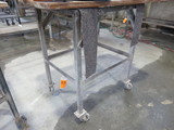 PORTABLE METAL FRAME BENCH ONLY (NO CONTENTS)