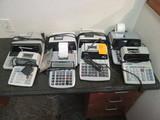 (8) OFFICE CALCULATORS
