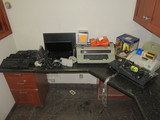 DELL NOTEBOOK, KEY BOARDS, TYPE WRITER, & FAX MACHINE