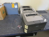 ASSORTED OFFICE SUPPLIES, PRINTERS/COMPUTERS