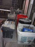 LOT OF SHOP CHEMICALS & PADS