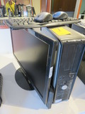 DELL COMPUTER TOWER W/SCEPTRE MONITOR (WINDOWS 10 INSTALLED)