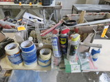 ASSORTED PAINTING SUPPLIES