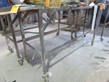 PORTABLE METAL FRAMED BENCH ONLY (NO CONTENTS)