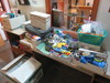 LOT OF OFFICE SUPPLIES & BROTHER PRINTER