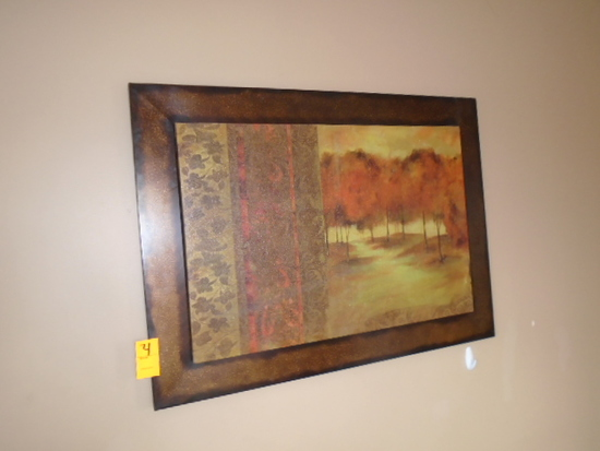 CANVAS PRINT WITH METAL FRAME
