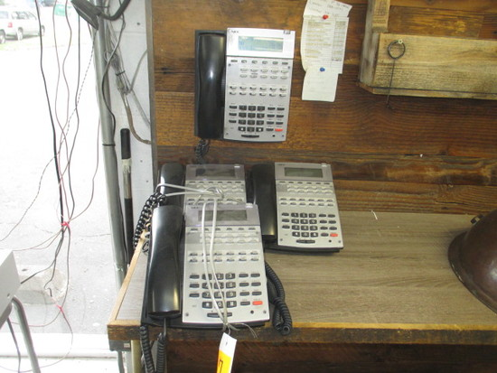 (5) NEC PHONES & NEC PHONE SYSTEM