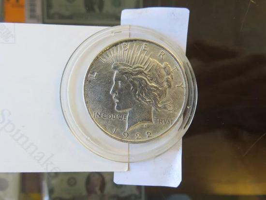 1922 MORGAN SILVER DOLLAR