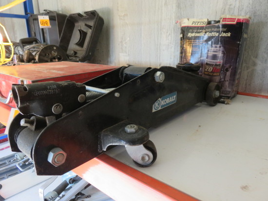 KOBALT FLOOR JACK & 20 TON BOTTLE JACK