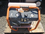 RIGID DUAL TANK AIR COMPRESSOR ELECTRIC