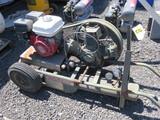 1982 MILITARY SINGLE TANK GAS POWERED AIR COMPRESSOR