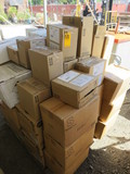 PALLET OF NEUTRAL CLEANER, MIRCO FIBER FINISH PADS, PURE BRIGHT FOOD