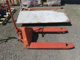 (1) PALLET JACK (NO MAKE MARKINGS)