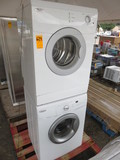 WHIRLPOOL WASHER/DRYER STACK SET, DRYER MDL# WED7500VW, WASHER