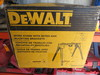 DEWALT WORK STAND W/MITER SAW MOUNTING BRACKETS