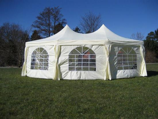 16' X 22' MARQUEE EVENT TENT W/ 320 SQ ST
