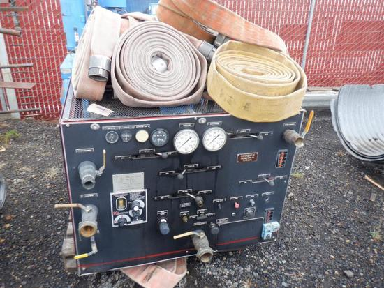 KK PRODUCTS PRO/PORTIONER FOAM INJECTION SYSTEM W/ MALLORY 70 RS CAFS FIRE PUMP